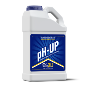 Blue Gold PH Up 1 Gallon 13.8 – 14 PH Non Caustic Concentrate For All Pro/General Hydroponics Systems, Nutrient Reservoir Tanks, Aquaponics.